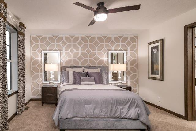Heritage mobile home bedroom