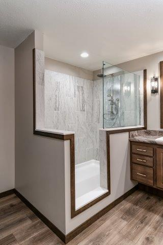 Heritage mobile home shower